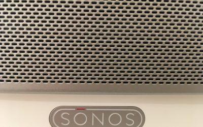 Sonos Logo und Gerät